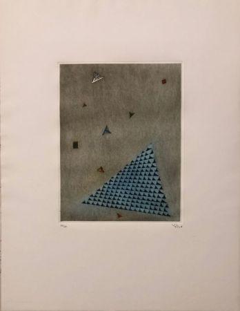彫版 Piza - Arrangement des triangles
