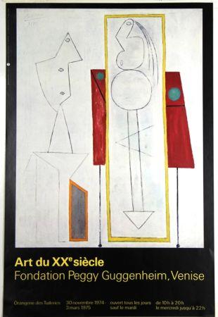 オフセット Picasso - Art Du Xxe Siecle  Fondation Peggy Guggenheim