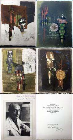 挿絵入り本 Friedlaender - Arthur Rimbaud. LES ILLUMINATIONS. Les Bibliophiles de Provence 1979