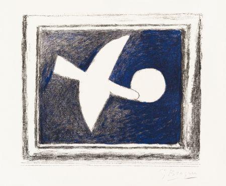 リトグラフ Braque - Astre Et Oiseau (Star And Bird) I, 1958-59