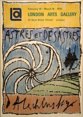 リトグラフ Alechinsky - Astres et Désastres