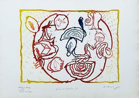 彫版 Alechinsky - Astres et désastres