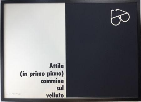 シルクスクリーン Isgro - Attila