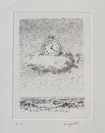 エッチング Magritte - Aube à l'Antipode