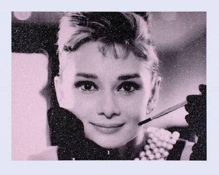 シルクスクリーン Young - Audrey Hepburn