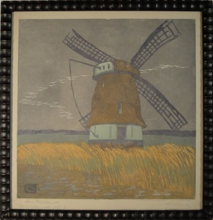 木版 Cunz - Aus Holland