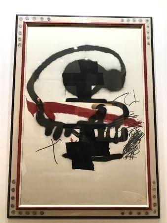 リトグラフ Tàpies - Ausstellung Tàpies - Milano