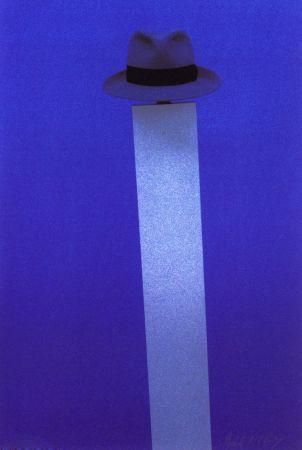 シルクスクリーン Monory - Autoportrait