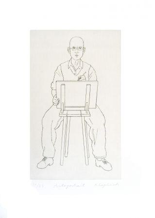彫版 Klapheck - Autoportrait