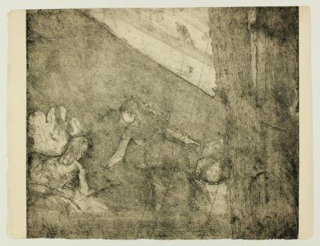 彫版 Degas - Aux  Ambassadeurs