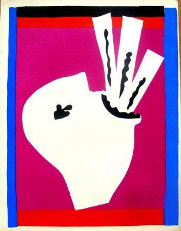 リトグラフ Matisse - Avaleur De Sabres De La Serie Jazz