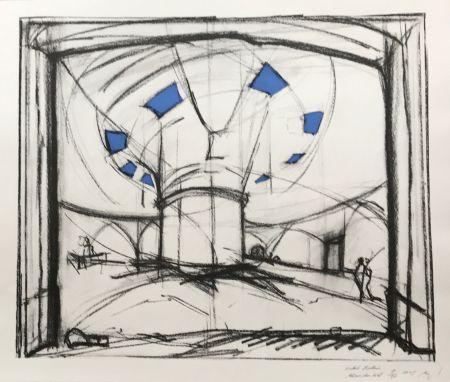 シルクスクリーン Buraglio - Avec Hubert Robert – Gauloise Bleue