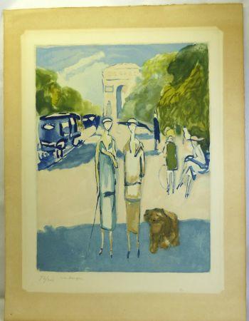 アクチアント Van Dongen - Avenue du Bois, 1928