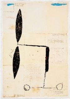 多数の Riera I Aragó - Avió hèlix daurada sobre manuscrits
