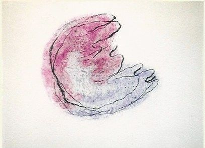 彫版 Fautrier - Baby mine
