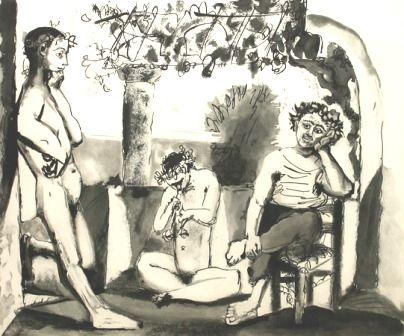 彫版 Picasso - Bacchanale (afterwork)