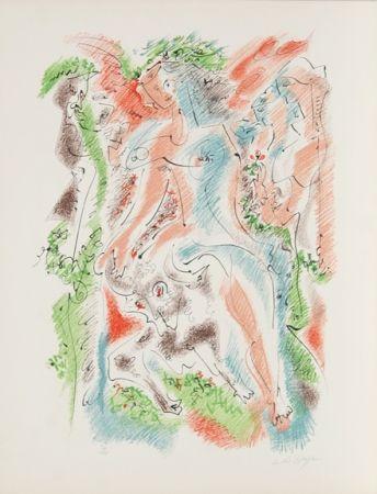 リトグラフ Masson - Bacchanale from Je Reve Portfolio