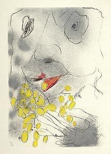 リトグラフ Rebeyrolle - Bacchus