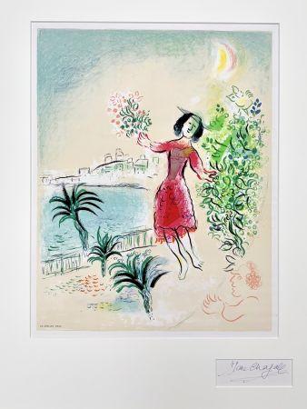 リトグラフ Chagall - Baie des Anges