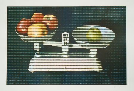 エッチングと アクチアント Jacquet - Balance et fruits