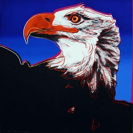 シルクスクリーン Warhol - Bald Eagle (FS II.296)