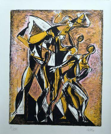 リトグラフ Carletti - Balletti 1