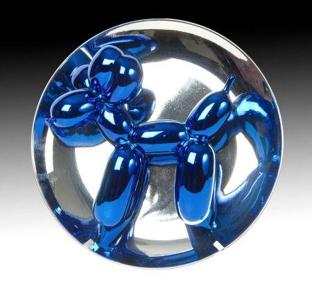 技術的なありません Koons - Balloon Dog blue