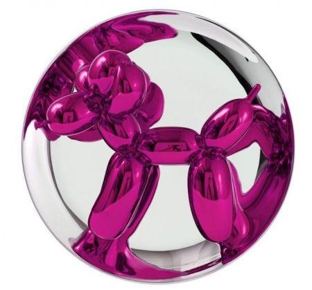 技術的なありません Koons - Balloon Dog magenta