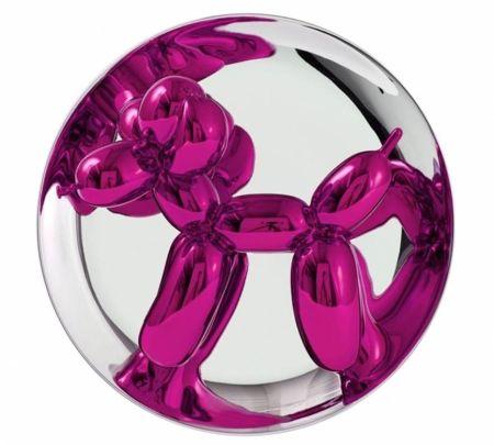 セラミック Koons - Balloon Dog (Magenta)