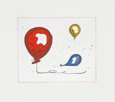 リトグラフ Oldenburg - Balloons
