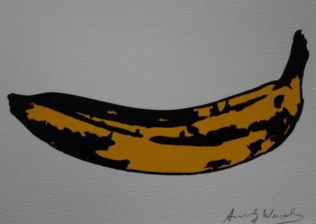 シルクスクリーン Warhol (After) - Banana