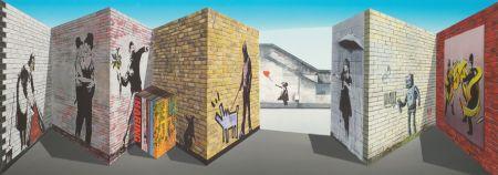 多数の Hughes - Banksy