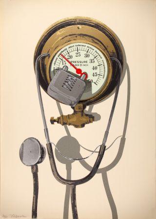 シルクスクリーン Burwitz - Barometer of Average Sensibilities (Combination Lost)
