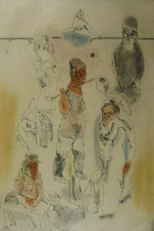 エッチングと アクチアント Cuevas - Barrion chino II