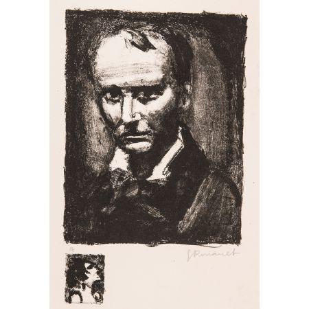 リトグラフ Rouault - Baudelaire