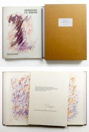 挿絵入り本 Bazaine - BAZAINE AQUARELLES ET DESSINS. Derrière le miroir, n° 170. 1968. TIRAGE DE LUXE SIGNÉ.