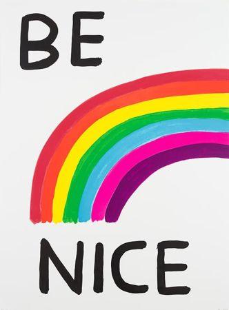 シルクスクリーン Shrigley - Be Nice