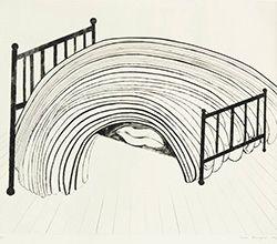 エッチング Bourgeois - Bed I