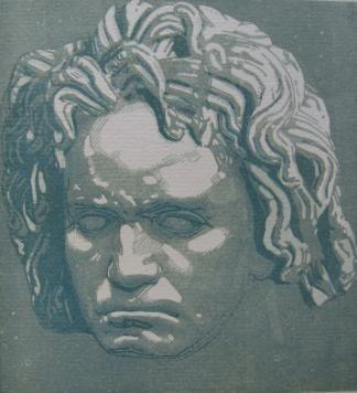 木版 Beltrand - Beethoven