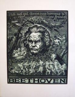 木版 Belot  - Beethoven