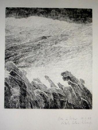彫版 Celan Lestrange - Bei wein