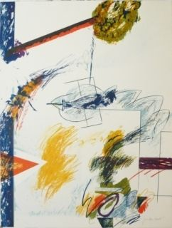 リトグラフ Duran Benet - BELIZE 4