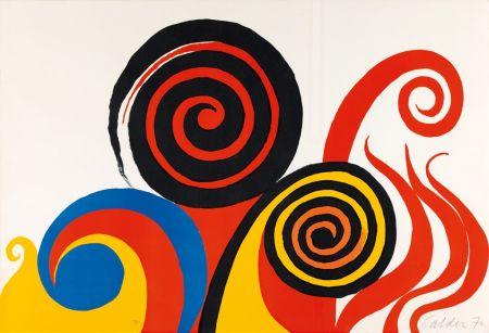 リトグラフ Calder - Berkeley
