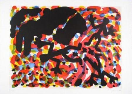 エッチングと アクチアント Penck - Berlin Blatt VII