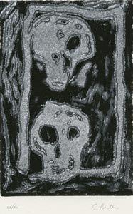 リノリウム彫版 Bertelli - Bestiario gotico