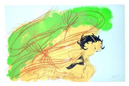 リトグラフ Messagier - Betty Boop