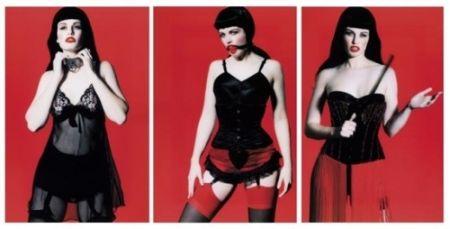 写真 Lagrange - Betty Page Trilogy (triptych)