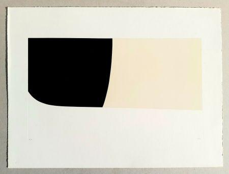 リトグラフ Burri - Bianchi e neri II
