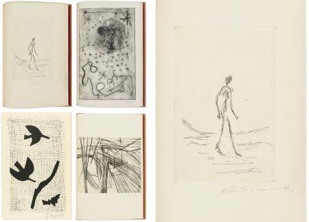 挿絵入り本 Giacometti - Bibliographie des œuvres de René Char (PAB 1964) Gravures signées de Giacometti, Miro, Braque, Da Silva.