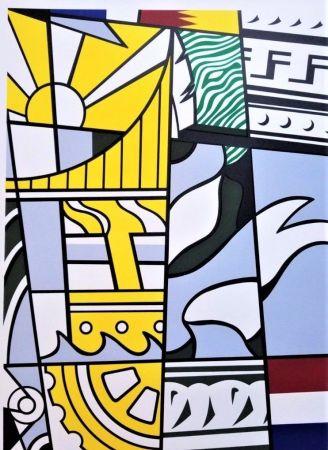 リトグラフ Lichtenstein - Bicentennial Print